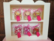 Gosfield- pink candy stand