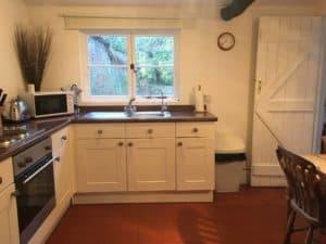 Leez Priory Fisherman's Cottage Kitchen