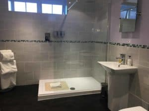 Leez Priory The Smithey Shower Room