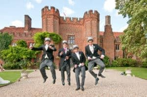 Groomsmen in Top Hats