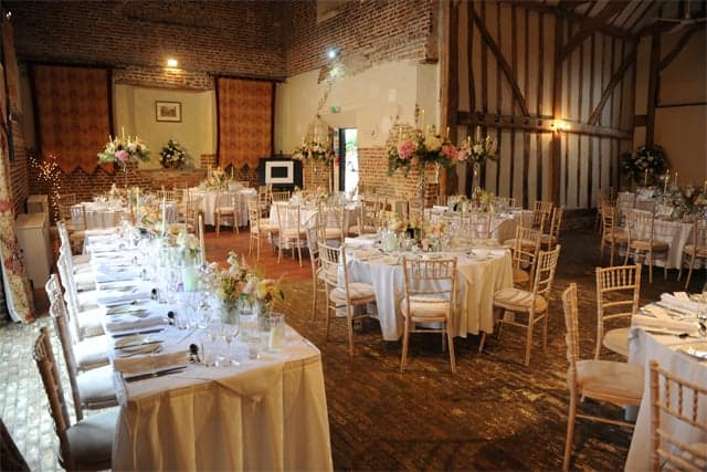 Leez Priory - Coach House Wedding Breakfast (NB)