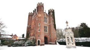 Winter at Leez Priory