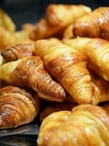 Croissants ready for eating