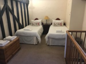 Fishermans Cottage Twin Bedroom