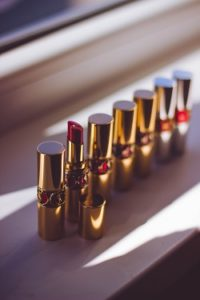 Lipstick selection